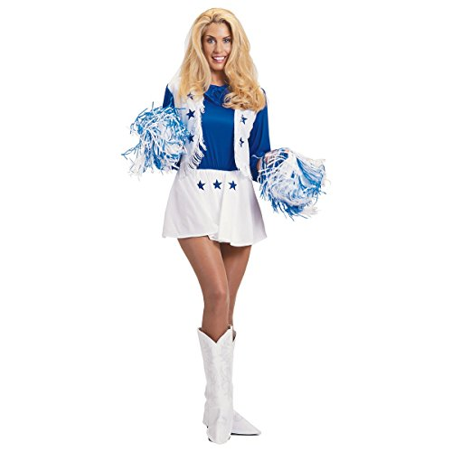 Dallas Cowboys Cheerleader Adult Costume - Small ()