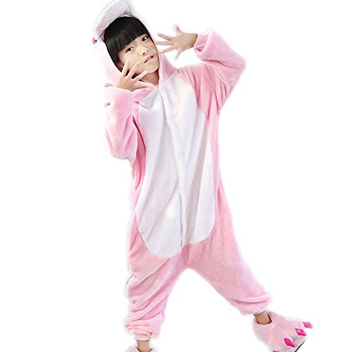 Dinosaur Onesie Sleepwear for Kids Costume Halloween Hooded Jumpsuit With -