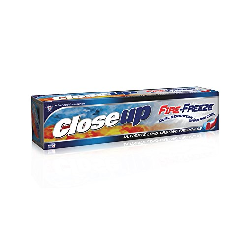 Closeup Fire Freeze Gel Toothpaste 150gm