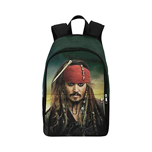 Pirates Of The Caribbean Backpack - Peter Cafe Jack Sparrow Pirate of