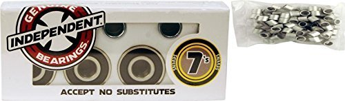 Independent 7s Abec 7 Skateboard Bearings by Independent