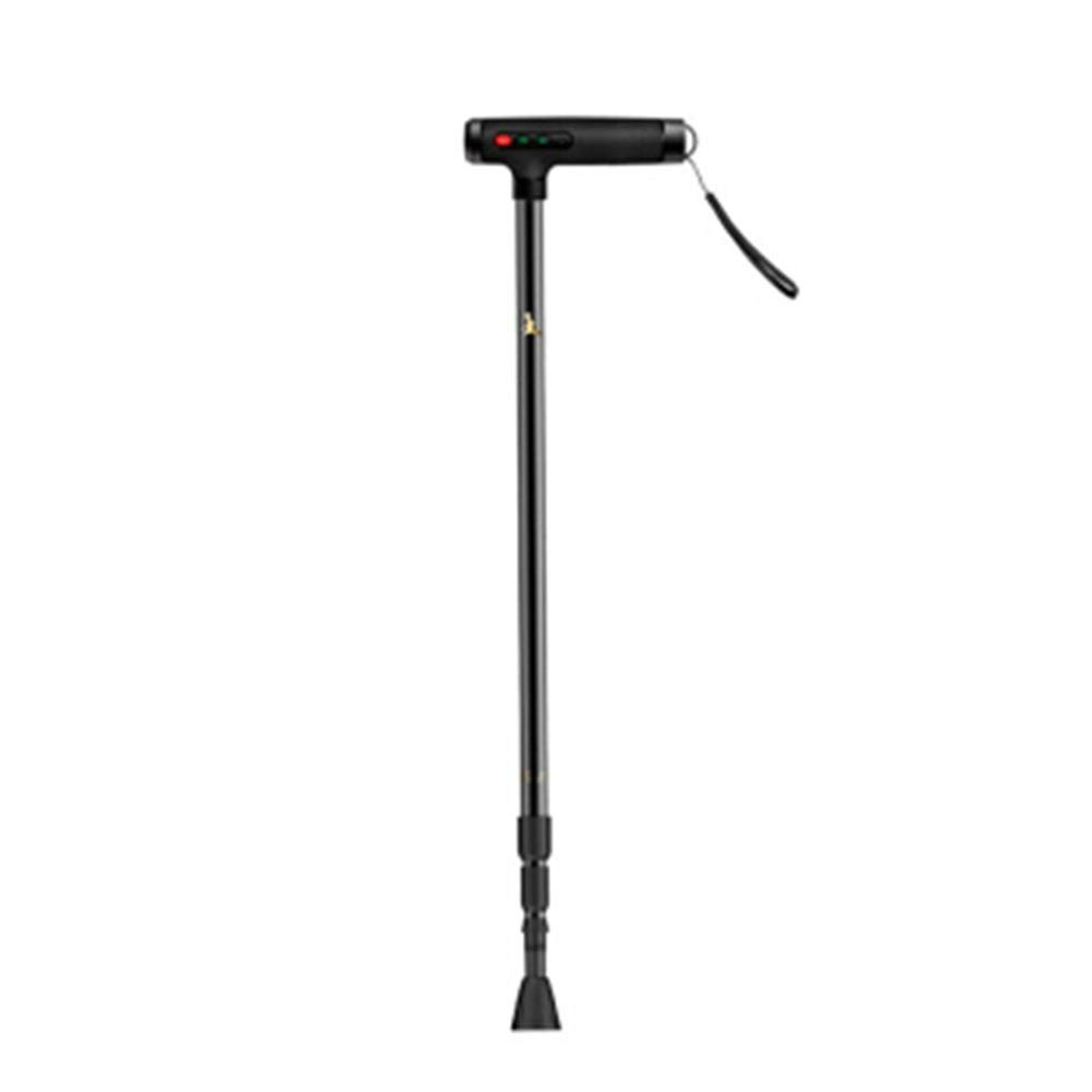 NKDK Cane NonSlip Telescopic Cane MultiFunction Cane Can Call GPS Positioning Safe Light Walking Stick 10 Crutch