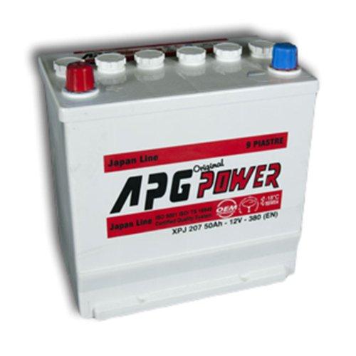 APG XPJ207L ORIGINAL JAPAN LINE - Batteria auto, 50Ah TBP Yuasa