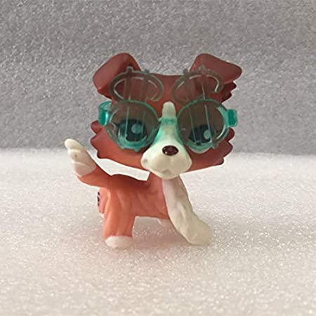 Grandes regalos Store Littlest Pet Shop lps Collie Pet Dane perros y gatos Collection Niño Chica Boy Figura Toy Loose Cute: Amazon.es: Hogar
