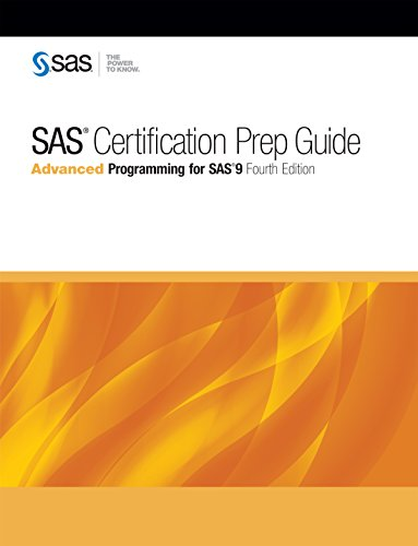 Sas certification prep guide advanced programming for sas 9 fourth sas certification prep guide advanced programming for sas 9 fourth edition by sas fandeluxe Image collections