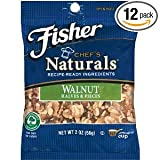 Fisher Walnuts 2 OZ (Pack of 24)