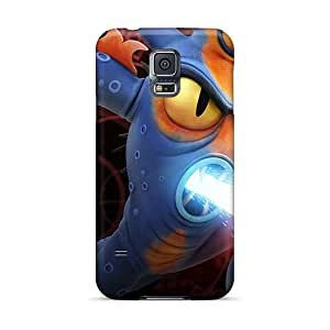 Shock Absorbent Hard Phone Cover For Samsung Galaxy S5 With Customized Stylish Big Hero 6 Image IanJoeyPatricia