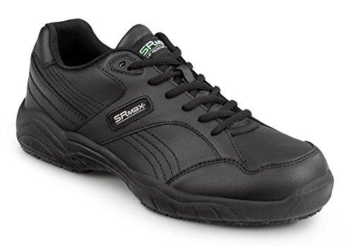 SR Max Dover Womens Black Slip Resistant Sneaker n3WWLi
