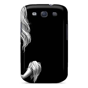 AniamlCaseZone Case Cover For Galaxy S3 - Retailer Packaging Black Cat Protective Case