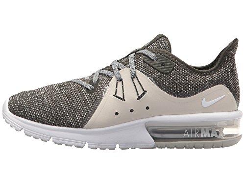 M Light Air US B Silver Max NIKE Sequent Running 3 Sequoia Shoes Metallic 7 Women's Bone 5 O5wqv