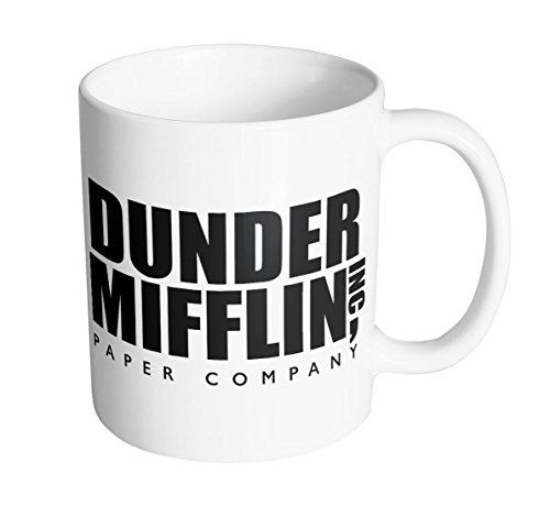 Tcombo World's Best Boss Dunder Mifflin 11 oz. Mug (1 Mug)