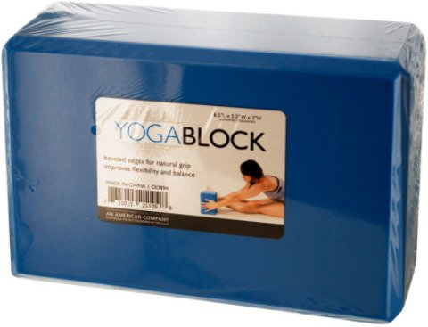Bulk Buys Fitness Exercise Natural Grip Yoga Block Pack of 5 by bulk buys