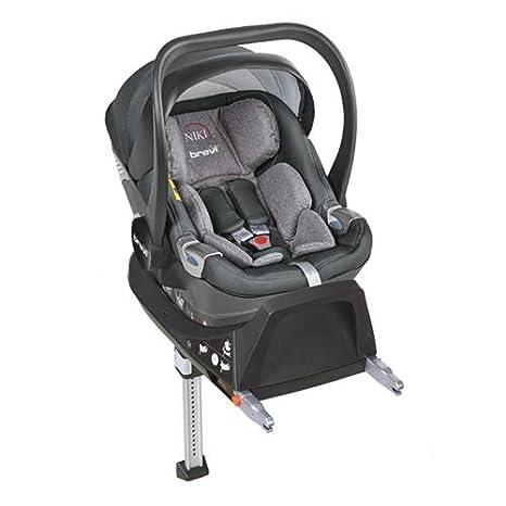 Brevi, Silla de coche i-Size, Mezcla de grises: Amazon.es: Bebé