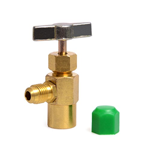 """Goetland Brass Metal Can Tap 1/2"""" for AC Refrigerant R134A Air Conditioning Accessories"""