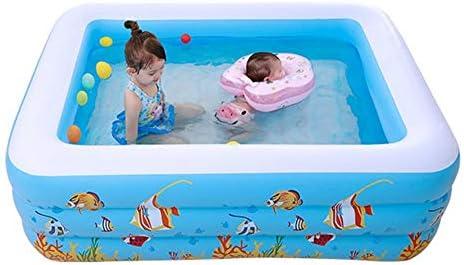 Favourall Piscina Inflable para niños Rectangular pequeña ...