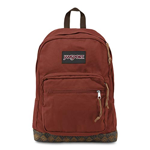 JanSport Unisex Right Pack Expressions Burnt Henna Ortenzi Backpack from JanSport