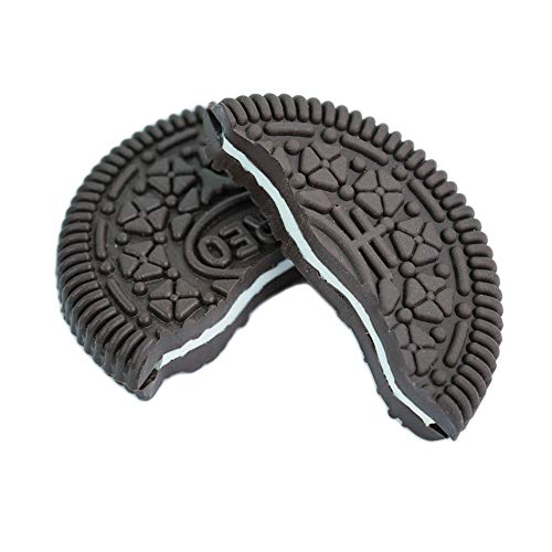 Xfunjoy 2 Pcs Bite and Restore Cookie with Video Tutorial- Bite Oreo Close up Magic Trick Magic Street Trick Coin Magic Trick Revealed