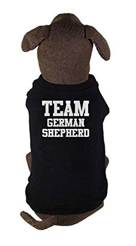 Team German Shepherd, dog t-shirt by Bertie, Free worldwide shipping