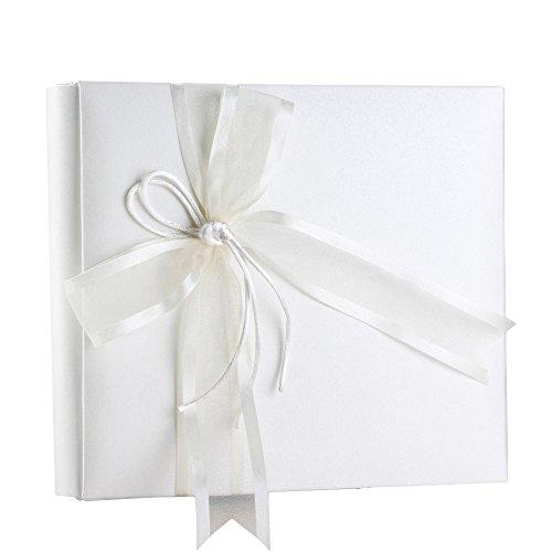 (Ivy Lane Design Simplicity Wedding Album, 8-Inch by 8-Inch, Ivory )