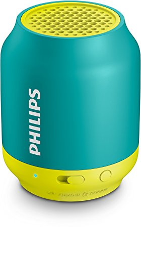 Philips BT-50A/00 2.1 Wireless Bluetooth Speaker (Green/Yellow)
