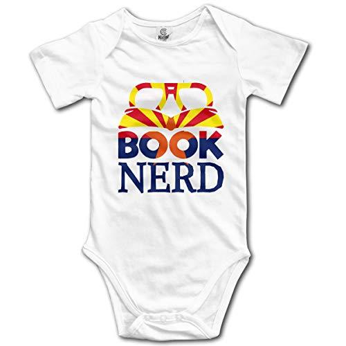 Book Nerd Novelty Newborn Baby Boys Girls Soft