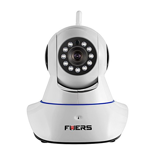 Security Camera, Fuers Wifi Wireless IP Camera Network Video Monitor HD 720P with 2-way Talk,Night Vision,Motion Detection for Baby Pet nanny Video Monitor