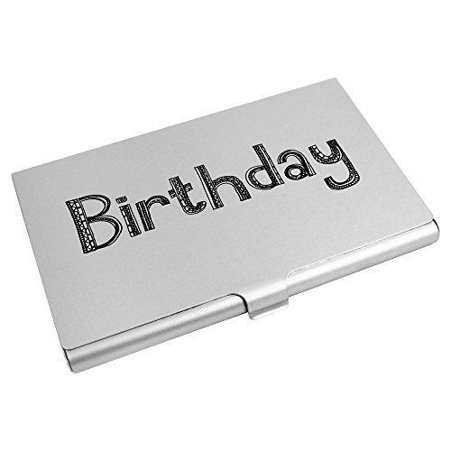 De Visita Azeeda Tarjeta Crédito Tarjeta 'cumpleaños' De Billetera ch00003810 Titular qtEpc
