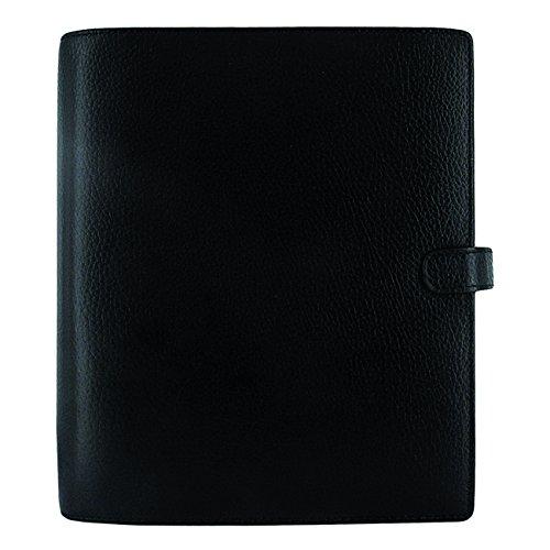 A5 Filofax (Filofax 2018 A5 Finsbury Organizer, Black, Paper Size 8.25 x 5.75 inches (C025368-18))