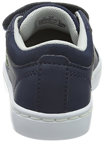 003 1 Basses Lace nvy Lacoste Straightset Bleu Mixte Baskets 316 Blau Enfant US5PRq