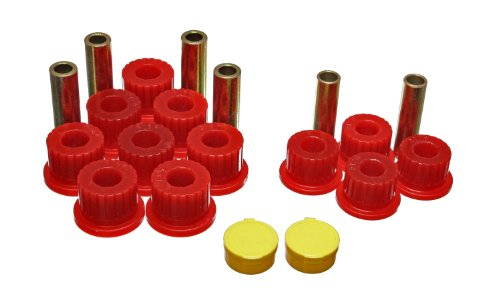 Bushings Suspension Rear Energy Dodge (Energy Suspension 5.2111R Spring Bushing for Dodge Ram)