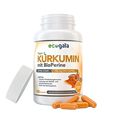 Curcumin mit Bioperine