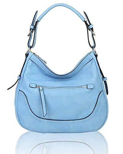 al para piel Bolso M de hombro mujer Quay Foxlady Blue sintética 54qpwPIY