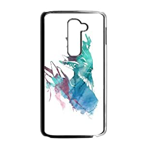 LG G2 Black phone case Leshrac Dota 2 DOT7112492