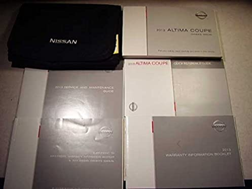 2013 nissan altima owners manual nissan amazon com books rh amazon com 2013 optima owners manual 2013 nissan altima owners manual