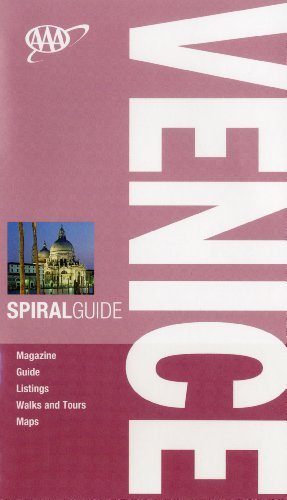 AAA Spiral Venice (AAA Spiral Guides)