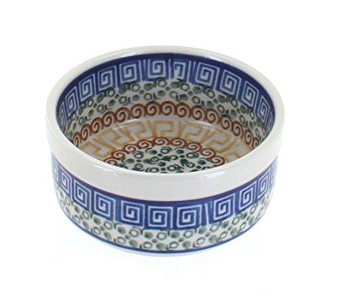 Polish Pottery Athena Small Ramekin (Stoneware Artystyczna Ceramika Polish)