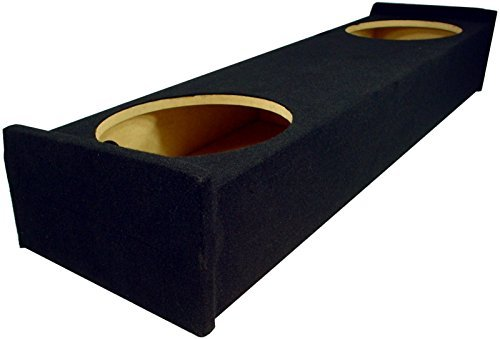 Ford F150 Ext Cab - Custom Fits Ford F150 Ext Cab 97-99 Truck Dual 12 Subwoofer Bass Speaker Sub Box