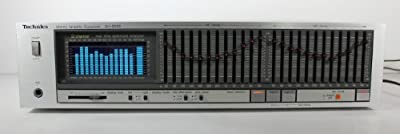 Technics SH-8055 12 Band Graphic EQ with RTA and Optional Acoustic Mic from Technics