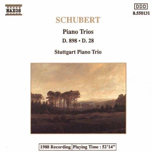 Schubert: Piano Trios in B Flat Major, D. 898 and D. 28 - Trio Schubert
