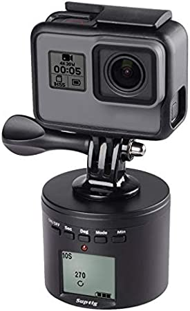 SIZOO - Live Tripods - For Dji Osmo Action Time Lapse tripod mount Smart Electric Panning Rotating For Go Pro 8 insta 360 ONE X R xiaoyi 4k 2 Accessory