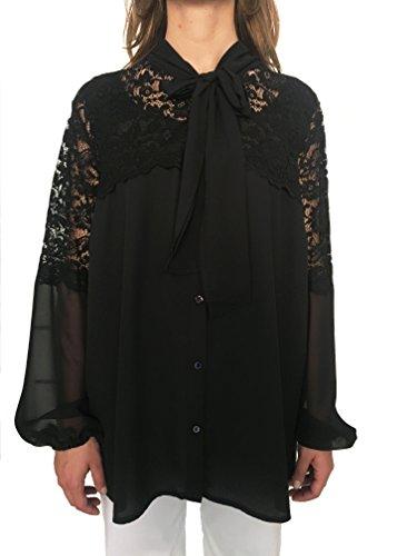 Negro Ferroni Carla Mujer Camisas Para qxIPwnZRf