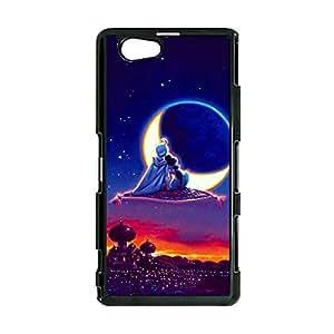 Personalized Cartoon Design Aladdin Protect Skin Sony Xperia Z1 Compact Protective Aladdin Anime Element