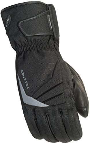 TourMaster Men's Cold-Tex 3.0 Motorcycle Gloves (Black, X-Large)