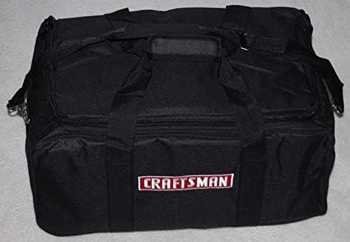 Craftsman 23 Tool Bag – Large Zippered D Opening Bulk Packaged