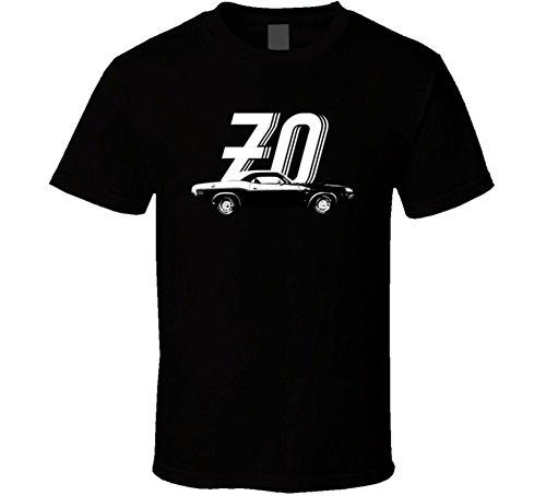1970 Dodge Challenger Rt 440 7 2 V8 Vintage Car Year Fan T Shirt 2XL Black