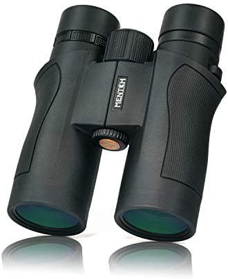 8×42 Binoculars for Adults Compact, Binoculars for Bird Watching Travel Hunting Sightseeing Concerts Sports with Low Light Vision Black