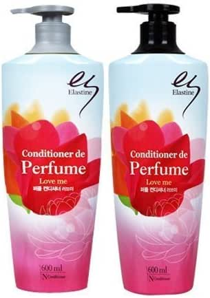 [Lg H&h] Elastine Perfume Love-me Hair Shampoo 600ml Conditioner 600ml