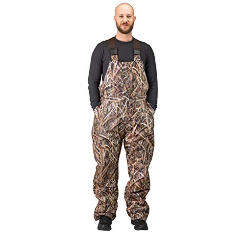 - TrailCrest Men's Insulated & Waterproof Camo Bib Overalls, Mossy Oak Pattern