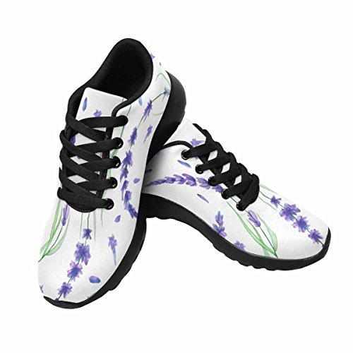 Interestprint Femmes Jogging Running Sneaker Léger Aller Facile Marche Confort Sport Chaussures De Course Multi 15