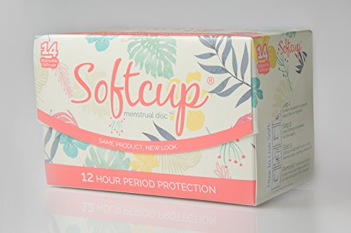 Softcup, 14 Disposable Menstrual - Las Hours Mall Americas